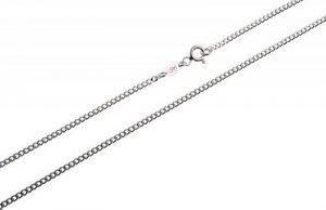 1,7mm, Collier en argent 925/1000 Chaîne courbe- Longueur 38-100cm de la marque Silberketten-Store image 0 produit