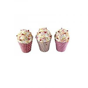 """'disok–Lot de 20boîtes en forme de coupe de crème glacée """"Cupcake–Boîtes Boîtes pour souvenirs de mariage de la marque DISOK image 0 produit"""
