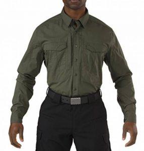 5.11 Hommes Stryke Chemise Manches Longues TDU Vert de la marque 5.11 Tactical Series image 0 produit