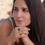 Aden's Jewels - Bague-Homme-Biker-Argent rhodié 10.3 Gr-Man-Couleur noire-Pierre d'imitation onyx de la marque Aden's Jewels image 4 produit