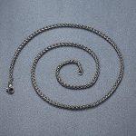 Aoiy - Collier avec pendentif hommes - Acier Inoxydable - Gothique Crâne Croix - chaîne 61cm - aap012 de la marque Aoiy image 4 produit