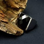 Bague argent homme avec pierre noire - le top 13 TOP 3 image 2 produit