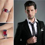 Bague homme avec rubis : acheter les meilleurs modèles TOP 5 image 3 produit