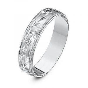 Bague homme or blanc diamant ; faites le bon choix TOP 2 image 0 produit
