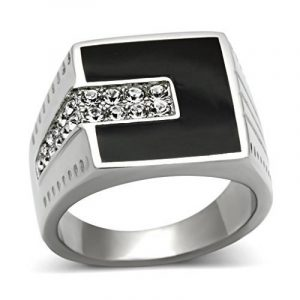 Bague homme or blanc diamant ; faites le bon choix TOP 3 image 0 produit