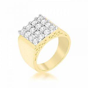 Bague homme or blanc diamant ; faites le bon choix TOP 7 image 0 produit