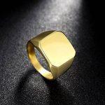 Bague homme or ; comment acheter les meilleurs en france TOP 5 image 5 produit