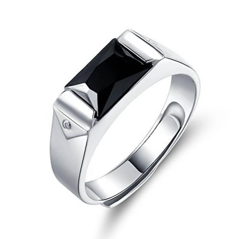 bague diamant noir pour homme