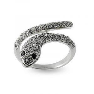 Bague tendance en Argent Sterling 925 avec Pierre Zircona en forme de serpent de la marque Chennai Jewellery image 0 produit