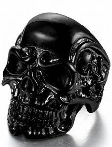 Bague tete de mort homme : les meilleurs produits TOP 0 image 0 produit