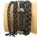 Bijoux Accessoires de Mode Hommes Bracelet en cuir Bracelet Cadeaux pour Lui de la marque ShalinIndia image 5 produit