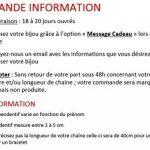 Bijoux personnalisés – Collier disques en argent de la marque Bijoux Personnalisés image 3 produit