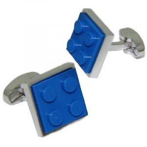 bleu lego brique Boutons de manchette Cuffs & Co de la marque Cuffs & Co image 0 produit