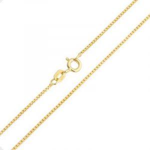 Bling Jewelry Argent plaqué Or Collier Chaîne lien fort unisexe 19 Gauge de la marque Bling Jewelry image 0 produit