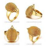 BOBIJOO Jewelry - Chevalière Bague Hérisson Niglo Acier Inoxydable Doré Or Fin Mixte Homme Femme de la marque BOBIJOO Jewelry image 2 produit