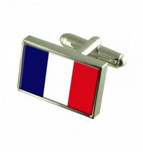 Bouton de manchette drapeau francais - comment choisir les meilleurs modèles TOP 11 image 0 produit