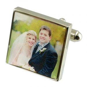 Boutons de manchettes Boutons de manchette mariage~Photo personnalisée gravée Anniversar fort de la marque Select Gifts image 0 produit
