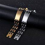 Bracelet acier garcon : acheter les meilleurs modèles TOP 1 image 3 produit
