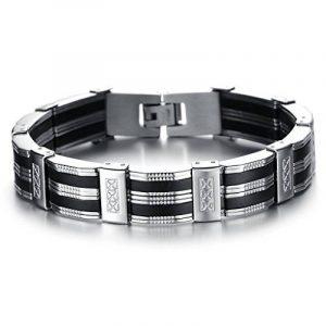 Bracelet acier homme - comment choisir les meilleurs modèles TOP 6 image 0 produit
