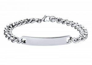 Bracelet argent homme personnalisé ; faites des affaires TOP 0 image 0 produit