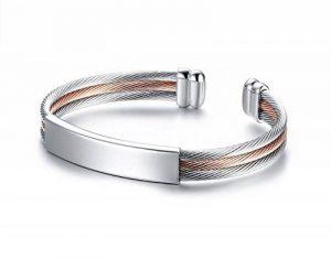 Bracelet argent homme personnalisé ; faites des affaires TOP 1 image 0 produit