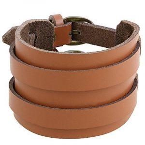 Bracelet cuir Accessoires Mode Hommes Indian Jewelry Boyfriend cadeaux de la marque ShalinIndia image 0 produit
