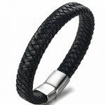 Bracelet cuir acier homme ; votre top 9 TOP 3 image 3 produit
