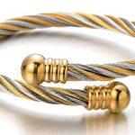 Bracelet cuir torsadé homme, acheter les meilleurs produits TOP 1 image 2 produit
