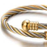 Bracelet cuir torsadé homme, acheter les meilleurs produits TOP 1 image 3 produit