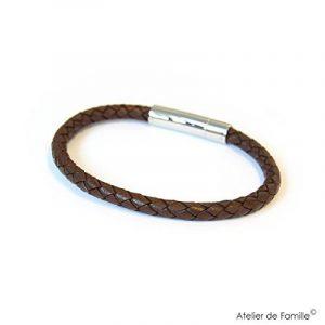 Bracelet cuir torsadé homme, acheter les meilleurs produits TOP 6 image 0 produit