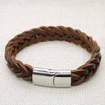 Bracelet cuir tressé homme : notre top 5 TOP 1 image 2 produit