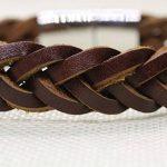 Bracelet cuir tressé homme : notre top 5 TOP 1 image 5 produit