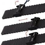 Bracelet de Montre Geckota® Maille Milanaise de Qualité, Classique et Ajustable, IP Noir, 20mm de la marque Geckota image 5 produit