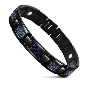 Bracelet homme acier carbone ; faites des affaires TOP 3 image 0 produit