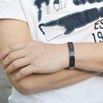 Bracelet homme acier carbone ; faites des affaires TOP 3 image 4 produit