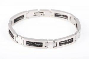 Bracelet Homme - Acier inoxydable 28 Gr - 21cm de la marque Couro image 0 produit