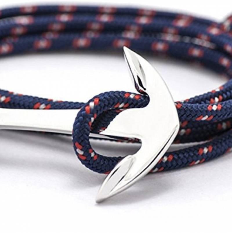 Royaume-Uni disponibilité 9420a 1b587 Bracelet homme ancre marque, les meilleurs modèles pour 2019 ...
