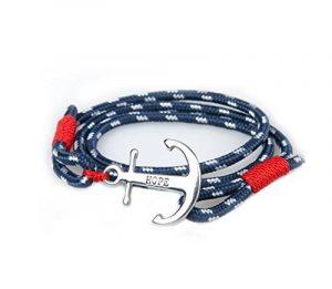 Bracelet homme bleu marine ; comment trouver les meilleurs en france TOP 0 image 0 produit