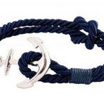 Bracelet homme bleu marine ; comment trouver les meilleurs en france TOP 2 image 1 produit