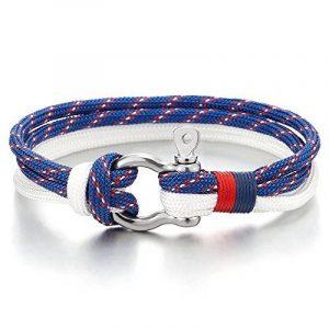 3f2636faa69a Bracelet homme bleu marine   comment trouver les meilleurs en france TOP 3  image 0 produit