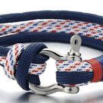 Bracelet homme bleu marine ; comment trouver les meilleurs en france TOP 7 image 1 produit