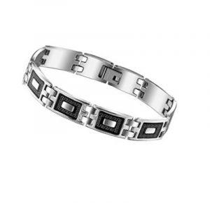 bracelet acier garcon top 12 pour 2018 bijoux pour homme. Black Bedroom Furniture Sets. Home Design Ideas