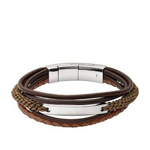 Bracelet homme fossil cuir ; faire des affaires TOP 10 image 0 produit