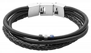 Bracelet homme fossil cuir ; faire des affaires TOP 4 image 0 produit