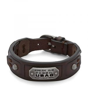 Bracelet homme fossil : notre top 5 TOP 1 image 0 produit