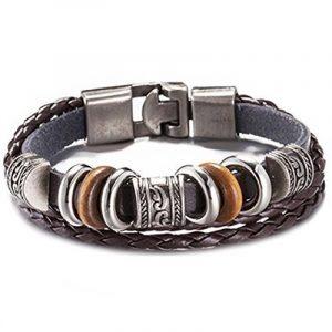 Bracelet homme marron : trouver les meilleurs modèles TOP 3 image 0 produit