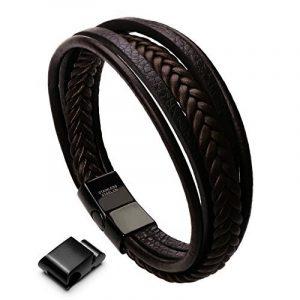 Bracelet homme marron : trouver les meilleurs modèles TOP 4 image 0 produit