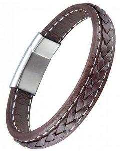 Bracelet homme marron : trouver les meilleurs modèles TOP 9 image 0 produit