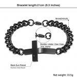 Bracelet homme metal noir ; comment choisir les meilleurs modèles TOP 1 image 1 produit
