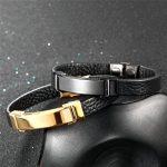Bracelet homme metal noir ; comment choisir les meilleurs modèles TOP 4 image 2 produit